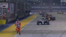 F1 bosses to investigate after race restarts with marshal on track