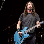Foo Fighters' Dave Grohl cooks BBQ for LA firefighters battling California wildfires