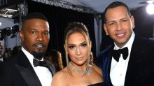 Jennifer Lopez and Jamie Foxx Have In Living Color Reunion at the 2020 SAG Awards