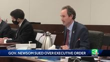 Gov. Newsom sued by 2 CA lawmakers over executive order