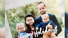 'Bizarre' baby face swap holiday card might be the funniest of the season