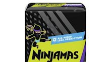 New Ninjamas Nighttime Underwear Helps Kids Take on Bedwetting Accidents and Wake Up Confident