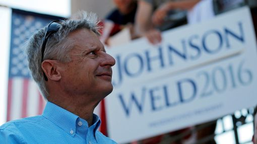 Gary Johnson Declares Space Travel and Colonization 'The Future of the Human Race'