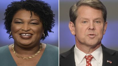 Kemp asks for unity as Abrams vows lawsuit