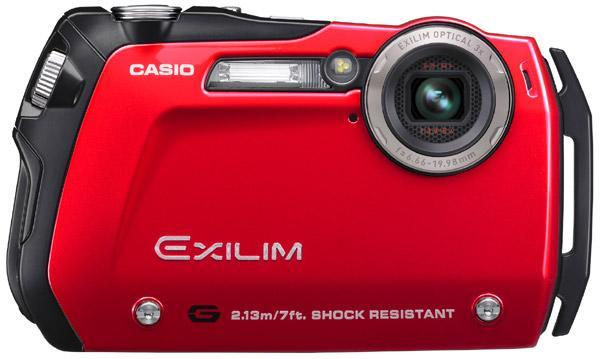 Casio trots out world's slimmest shock-resistant digicam: EX-G1 (video)