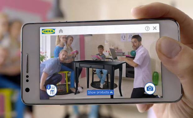 Ikea's 2014 Catalog app lets you arrange virtual furniture in your living room via augmented reality (video)
