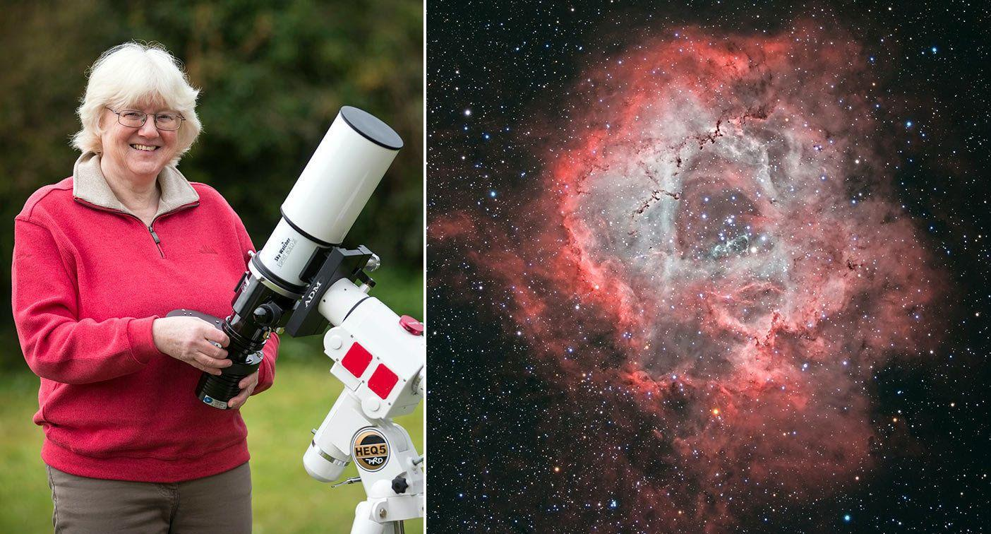 Amateur astronomer wins NASA contest - with picture from her Guernsey back garden