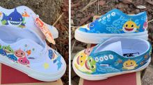 These Adorable 'Baby Shark' Shoes Will Have Your Little One Kicking to the Anthem