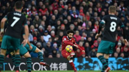 Sparkling Salah destroys Southampton