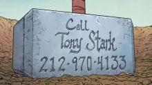 """Thor """"trolla"""" Homem de Ferro ao divulgar celular de Tony Stark em seu martelo"""