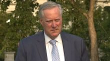 Mark Meadows: President Trump has been consistent about stopping endless wars
