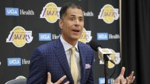 Lakers GM Rob Pelinka: With LeBron signing and 'tough' roster, sights are set on NBA title