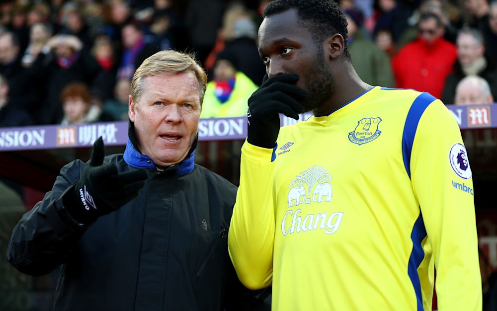 Ronald Koeman insists Everton will decide futures of Romelu Lukaku and Ross Barkley, saying he will not be dictated to by players - 2017 Getty Images