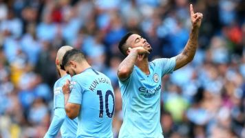 Gabriel Jesus on how playing with Sergio Aguero can help Manchester City make history