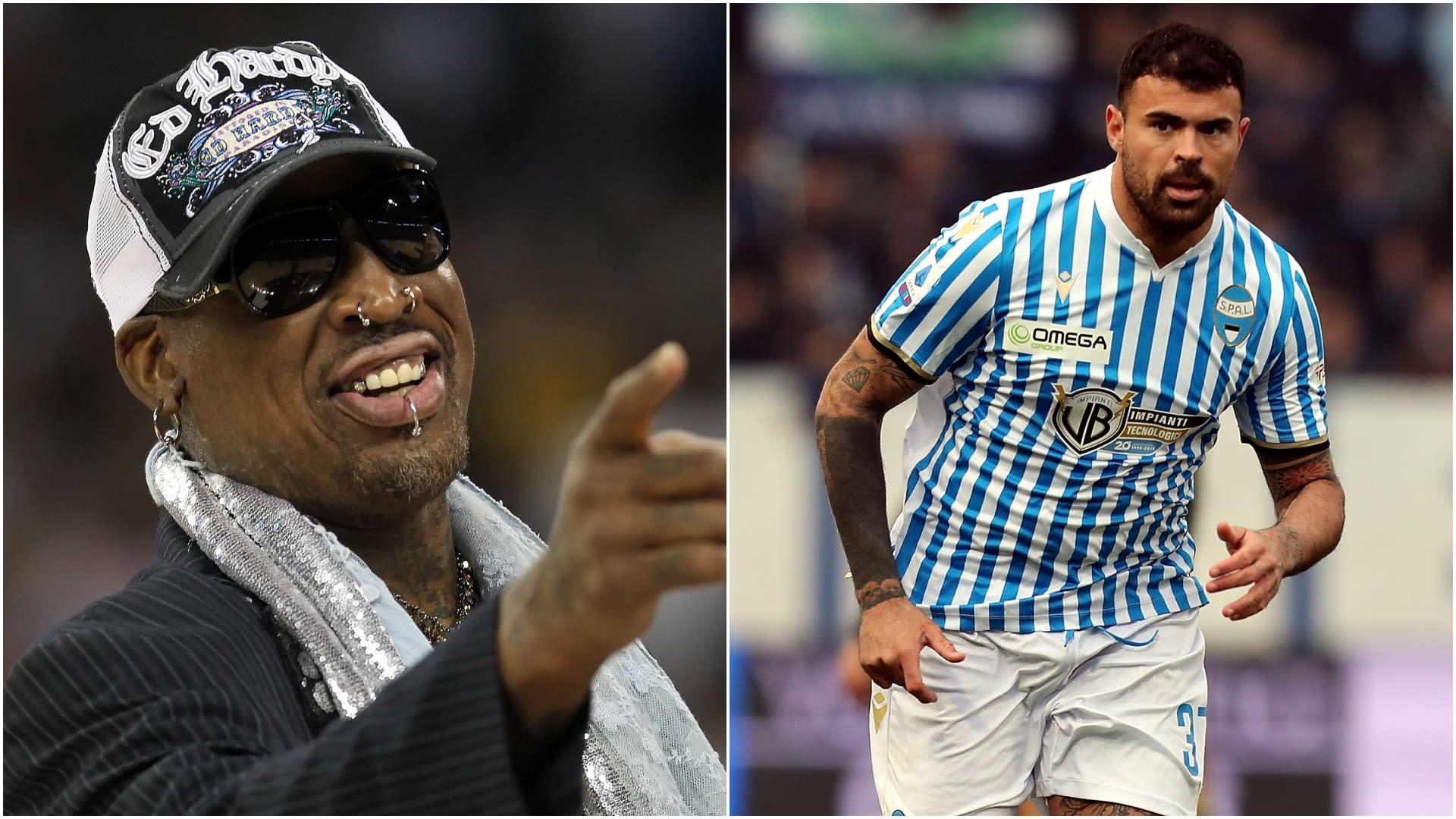 Bulls legend Rodman makes comical gaffe in video to SPAL striker Petagna
