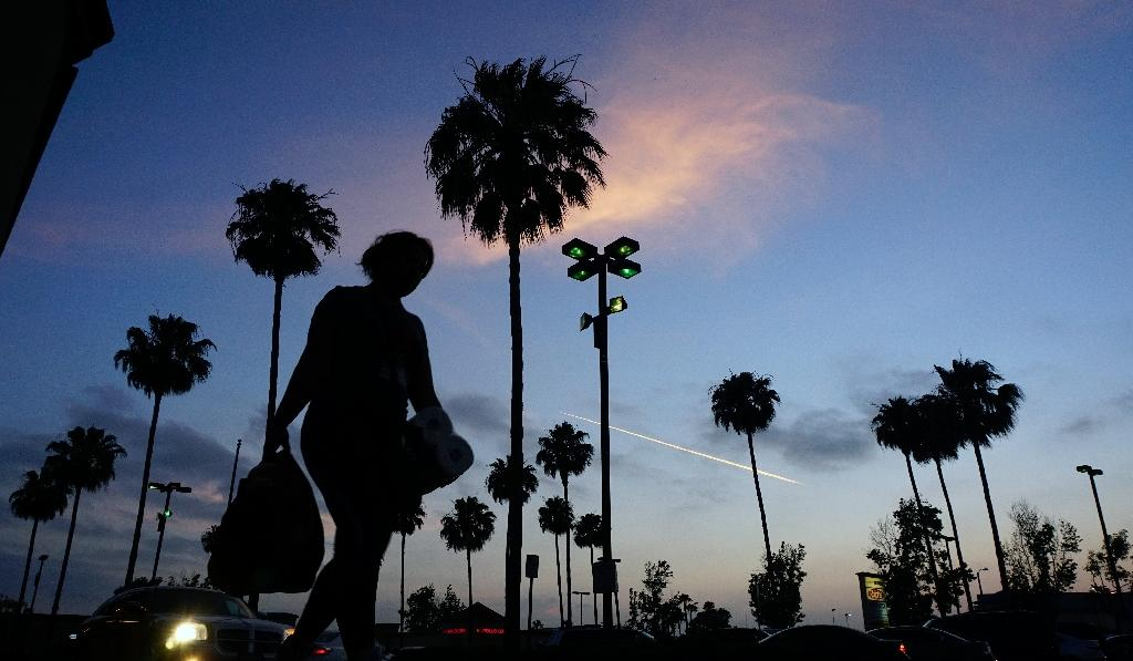 California has forged ahead with environmental regulations that have helped clear up once-polluted skies over cities like Los Angeles (AFP Photo/FREDERIC J. BROWN)