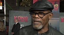 Samuel L Jackson attempts to clarify 'black British actors' remarks at Kong premiere