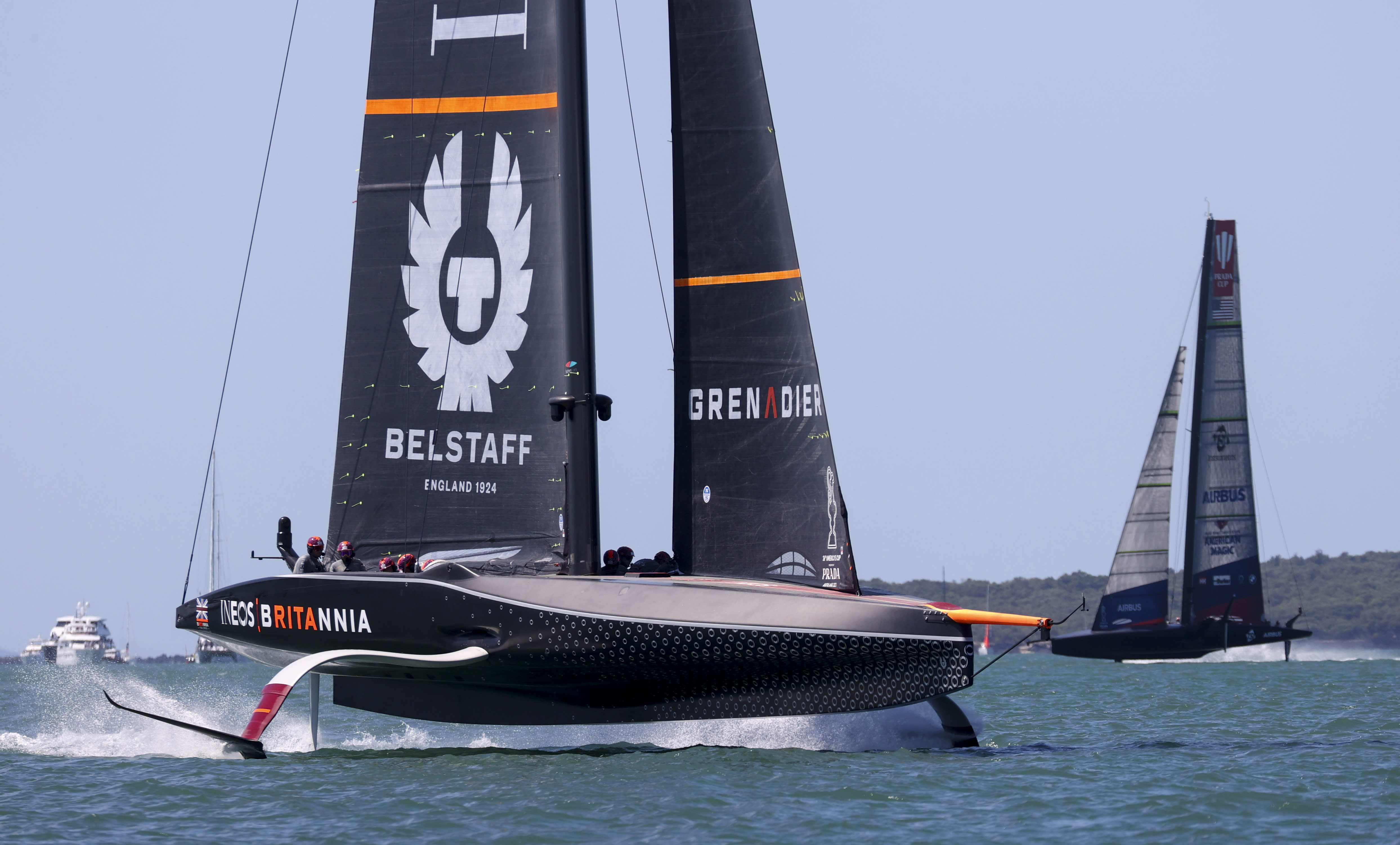 No British bust: Team UK into America's Cup challenger final