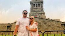 Las espectaculares vacaciones de Belén Esteban con su novio Miguel en Nueva York