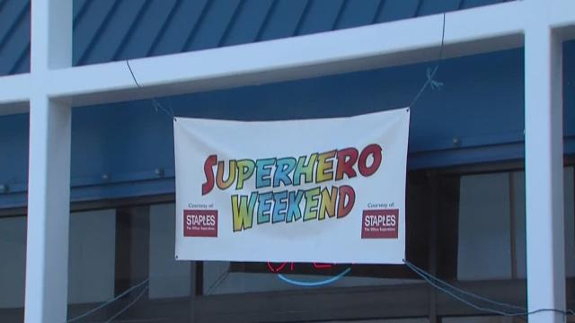 5pm: Superhero weekend in Elyria