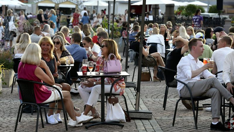 Finland eases rules for restaurant food sales as virus slows down