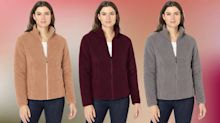 Amazon's ridiculously cozy $30 sherpa jacket is perfect for fall: 'Better than Patagonia!'