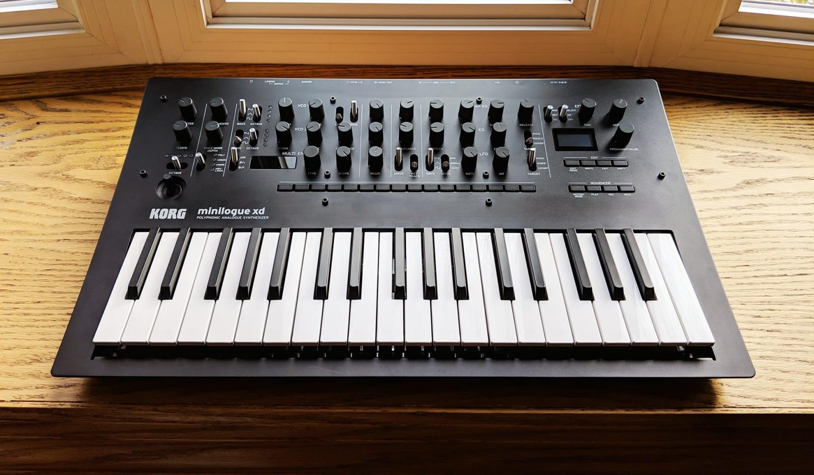 Korg Minilogue Xd Synthesizer Review Engadget