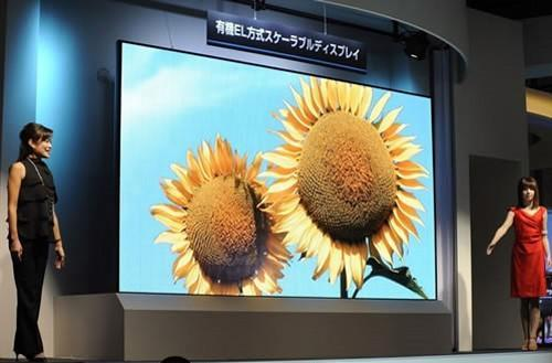 Mitsubishi's huge, modular OLED display set to go on sale worldwide on September 21