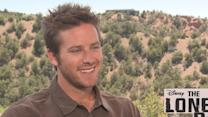 'The Lone Ranger': Armie Hammer Talks Going To Cowboy Camp