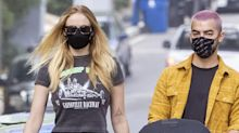 Sophie Turner and Joe Jonas Step Out with Baby Willa in Los Angeles