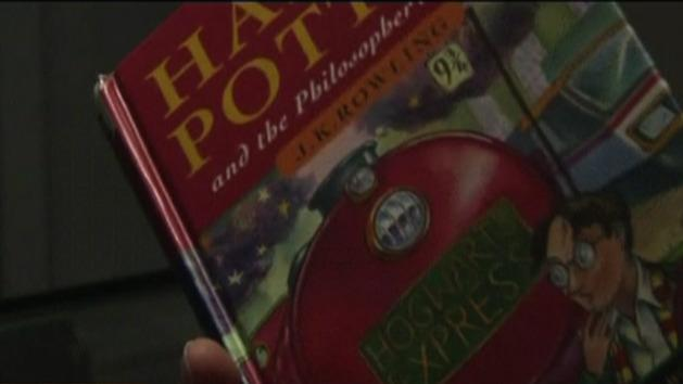 Annotated Harry Potter book on sale