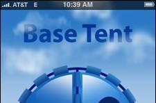 Base Tent offers mobile access to Basecamp