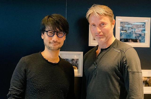 Hideo Kojima says his game studio may venture into filmmaking