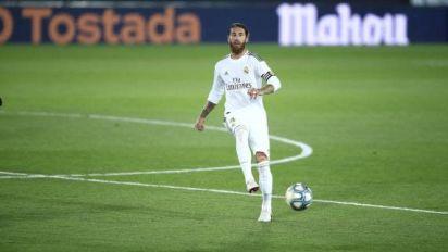 Foot - ESP - Real - Sergio Ramos (Real Madrid) atteint le cap des 500 matches en Liga