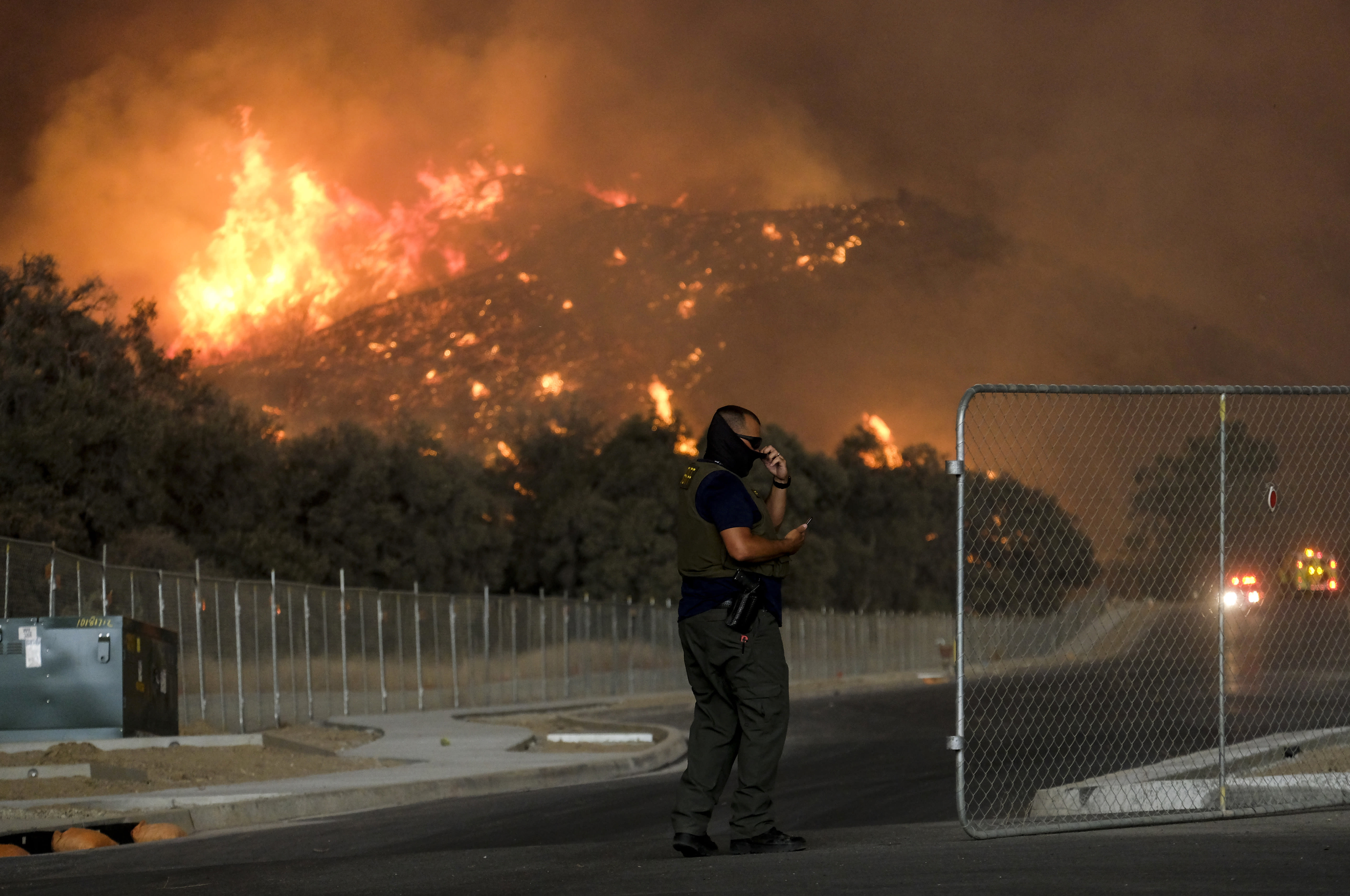 Governor declares state of emergency for California wildfire