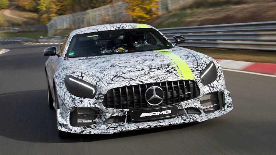 Mercedes-AMG GT R Pro teased ahead of LA Auto Show debut