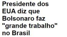 """Donald Trump tem sido um """"boy lixo"""" na relação com Bolsonaro?"""
