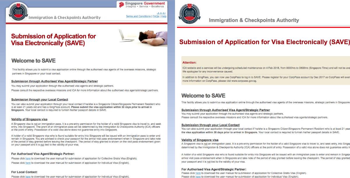 ICA warns of fake website phishing for visa, passport data