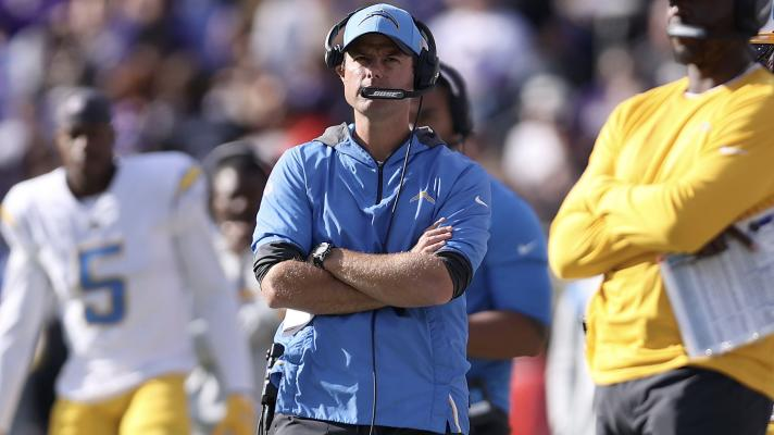 Chargers 1-3 on 4th down in big loss to Ravens