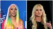 Cardi B Warns Tomi Lahren After 21 Savage Comment: 'Don't Make Me Get My Leash'