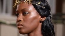 Gold Gladiator Wreaths at Valentino Couture
