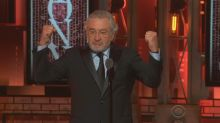 Robert De Niro's censored Trump comments at Tony Awards get standing ovation