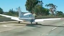 Pilot Casually Nails Emergency Landing On San Diego Interstate