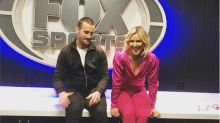 CM Punk and Renee Young show interest in WWE Raw Underground fight