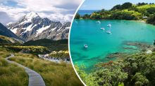 A trip to New Zealand could be first on our travel list