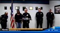 Mother thanks SDPD officers for saving her baby