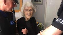Grandmother, 92, 'arrested' after lifelong ambition to 'know what it was like to be naughty'