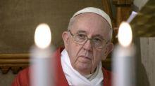 O papa em plena revisão das finanças do Vaticano