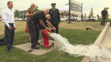 Mississauga unveils new water theft-resistant fire hydrant