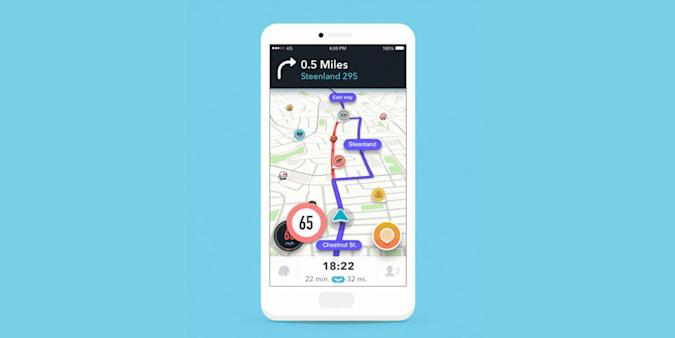 Waze will warn you when you're speeding